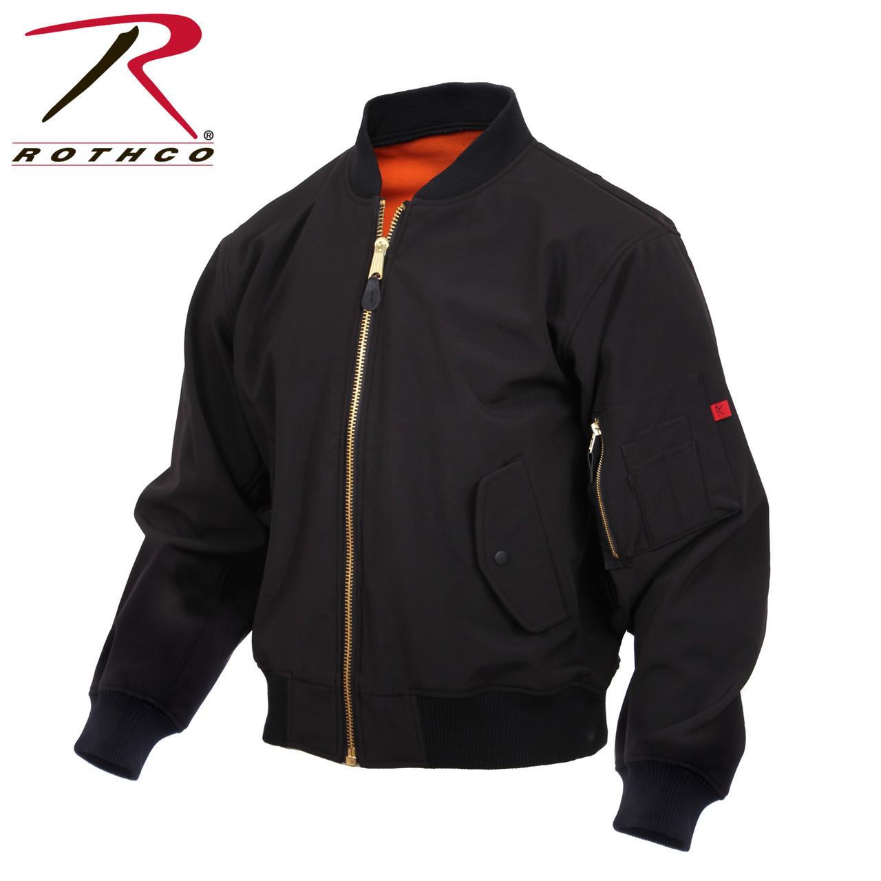 9f23f939abd38 Rothco Soft Shell MA-1 Flight Jacket - LMGS Online