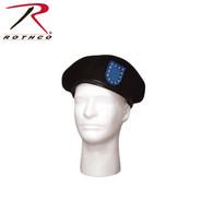 Rothco G.I. Type Beret w/ Blue Flash