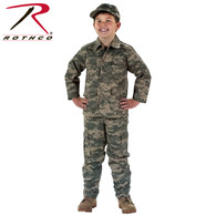 Rothco Kid's Digital Camo BDU Shirt