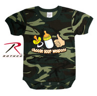 Rothco Choose Your Weapon Infant One-piece