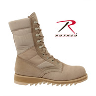 Rothco G.I. Type Ripple Sole Desert Tan Jungle Boots