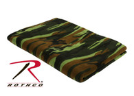 Rothco Camo Fleece Blanket
