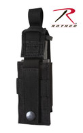 Rothco Single Pistol Mag Pouch With Insert - Molle