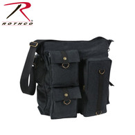 Rothco Vintage Multi Pocket Messenger Bag