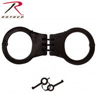Rothco Deluxe Hinged Handcuffs / Nickel Plated