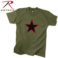 Rothco Red China Star T-Shirt