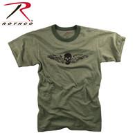 Rothco Vintage Skull & Wing Slub T-Shirt