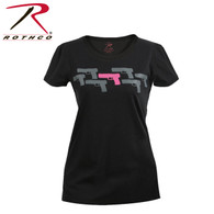 Rothco Women's ''Pink Guns'' T-Shirt