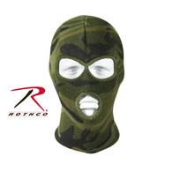 Rothco Deluxe Camo 3-Hole Face Mask
