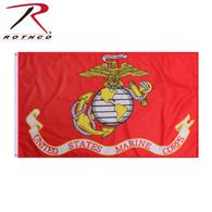 Rothco USMC Eagle, Globe and Anchor Flag - 3' x 5'