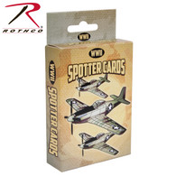 Rothco WWII Spotter Playing Cards ''CE''