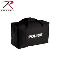 Rothco Large Canvas Police Gear Bag - Black