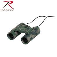 Camouflage Compact 8 X 21 Binoculars
