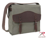 Rothco Vintage Canvas Medic Bag with Leather Accents