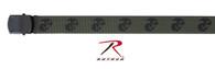 Rothco U.S.M.C Eagle, Globe & Anchor Web Belt