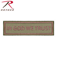 Rothco In God We Trust Morale Patch