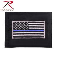 Rothco Thin Blue Line Flag Nylon Commando Wallet