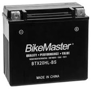 BikeMaster High Performance Maintenance Free Battery - BTX20HL-BS BTX20HL-BS