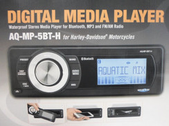 AQUATIC AV HARLEY DAVIDSON BLUETOOTH REPLACEMENT RADIO AQ-MP-5BT-H