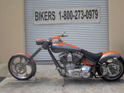 Custom Chopper 113ci Softail 2001 Amen #4354