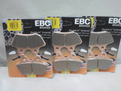 EBC SINTERED BRAKE PADS FA400HH FA 400HH FOR HARLEY 3PAIR
