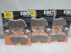 EBC SINTERED BRAKE PADS FA400HH FA 400HH FOR HARLEY 3PAIR