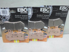 EBC Sintered Brake Pads - FA409HH - 3 Pair - FA 409HH for Harley Davidson