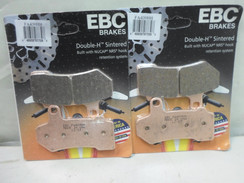 EBC Sintered Brake Pads - FA409HH - 2 Pair - FA 409HH FOR Harley Davidson