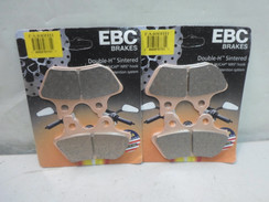 EBC - FA 400HH BRAKE PADS - 2 PAIR FA400HH for Harley Davidson