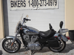 Harley Davidson #4423 SPROTSTER 883 GREY 2015 LOW MILES