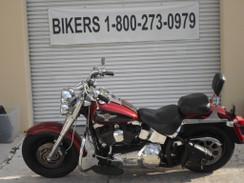 Harley Davidson #4432 Fat Boy FLSTF 2006 RED