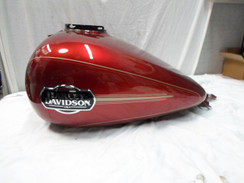 Harley-Davidson 2008-14 Touring Fuel Gas Tank Red Street Glide Road Electra