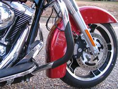 Pro Guards Crash Bar Protectors for Harley Davidson's BLACK