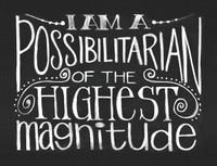MAWY14 - I Am A Possibilitarian