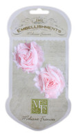 GN573 - Shabby Pink Flower Ribbon