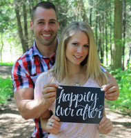 HM033 - Happily Ever After  Sign