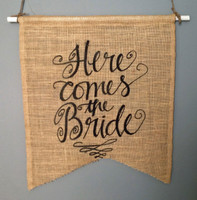 "PS15B - "" Here Comes the Bride"" Pennant"