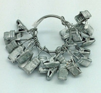 CIH211 -  Clips Zinc 24 pieces