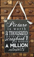 HM083 - A Picture is Worth a Thousand Words but a Scrapbook Page