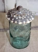 CIH257 - Mason Jar Lid - Knob - Zinc