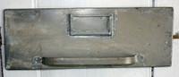 CIH261 - File Drawer Front - Zinc