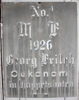 CIH271 - Grain Sack Stencil 1926