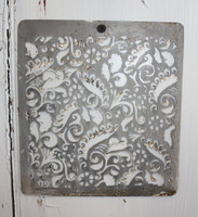 """CIH273 - Metal Stencil - 6"""" x 6"""" - Doodlie"""