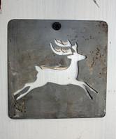 "CIH281 - Metal Stencil 4"" x 4"" - Reindeer"
