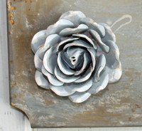 "CIH290 Metal Magnetic Flower 2.75"" - Zinc"