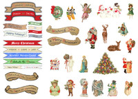 GN604 - Christmas Character Die Cuts