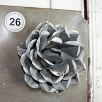 CIH285 Metal Magnetic Flower - Zinc 5.5""