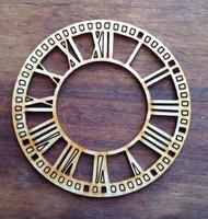 Roman Clock Lg