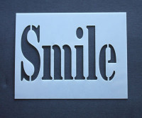 "Smile 3x4"""