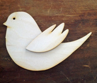 Bird w/Wing Lg